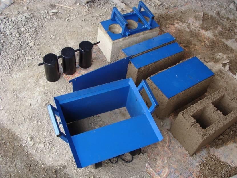 Оборудование для самодельного изготовления блочных изделий
