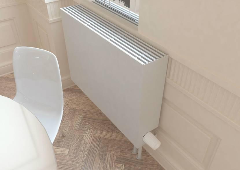 Конвекционный радиатор в водяным теплоносителем