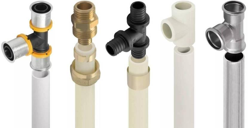 Трубы из разных материалов