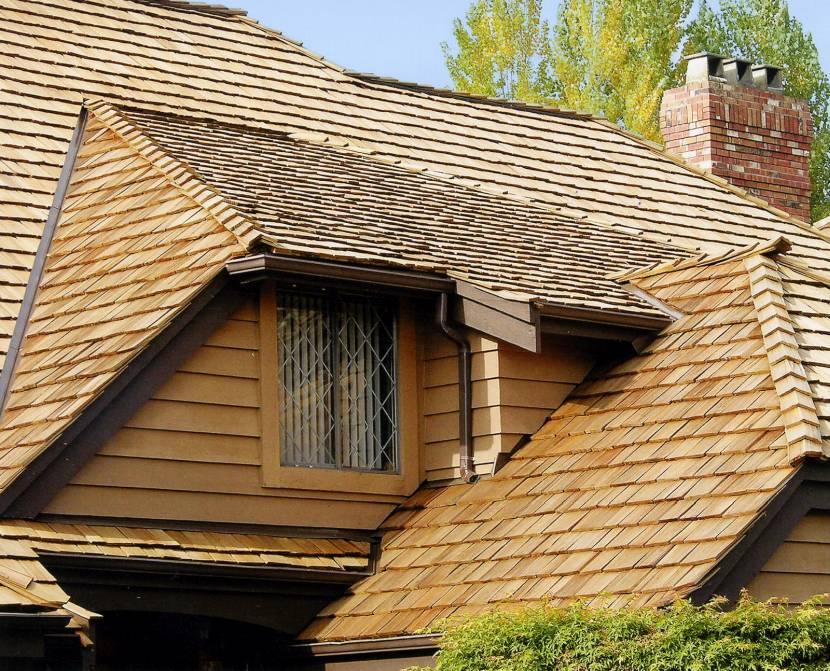 Красивый дизайн тесовой крыши