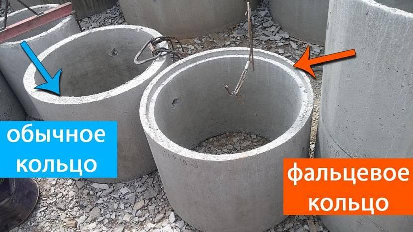 кольца для канализации размеры