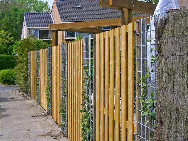 недорогой забор для дачи