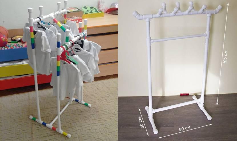 Простейшая вешалка для одежды