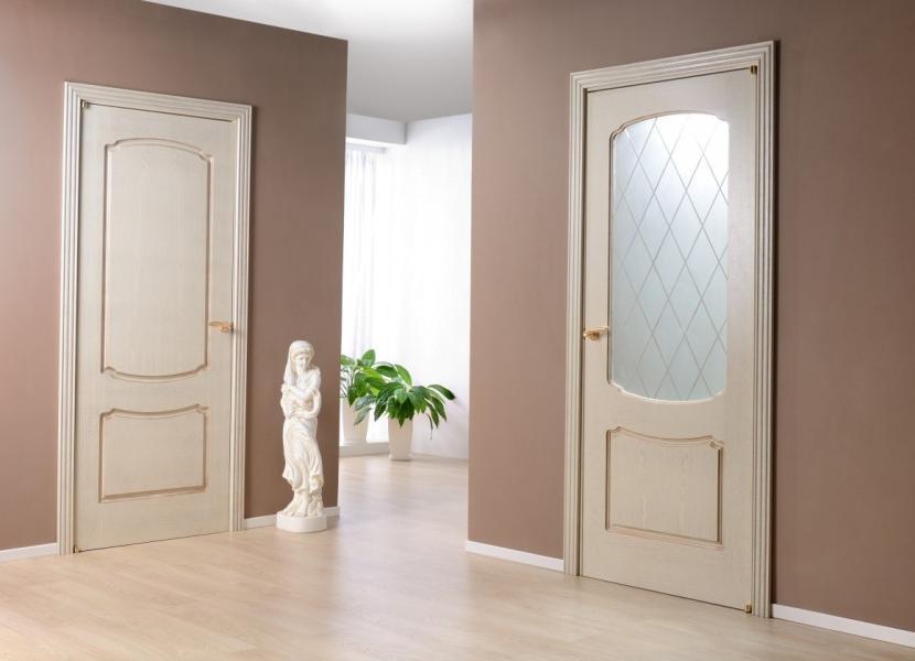 Покрашенные межкомнатные двери