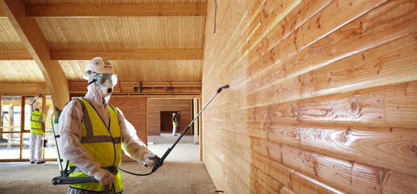 Средства для пропитки древесины должны быть безопасными