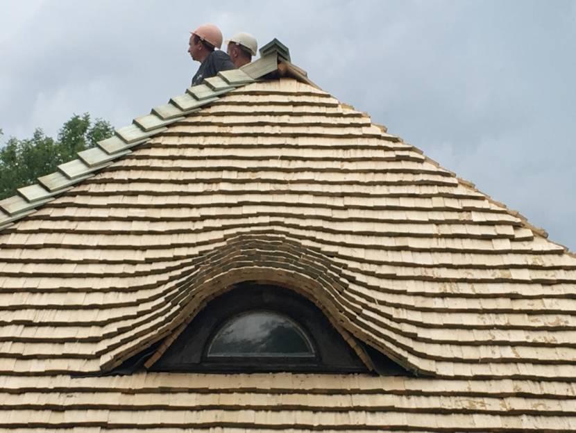 Практичное решение для тесовой крыши