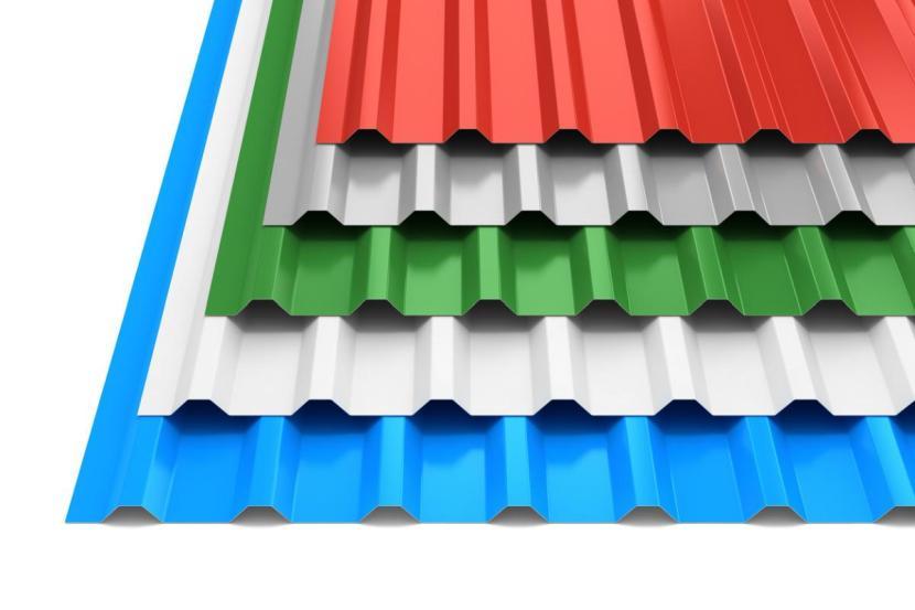 Профнастил С21 с цветным полимерным покрытием