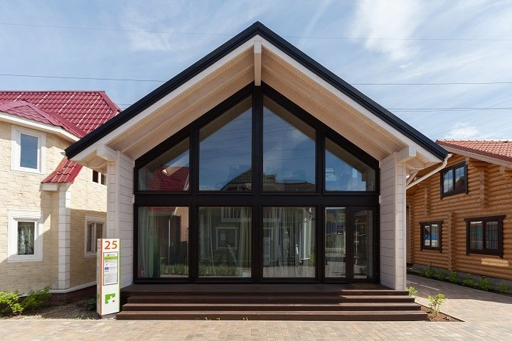 дом фахверк - фасад