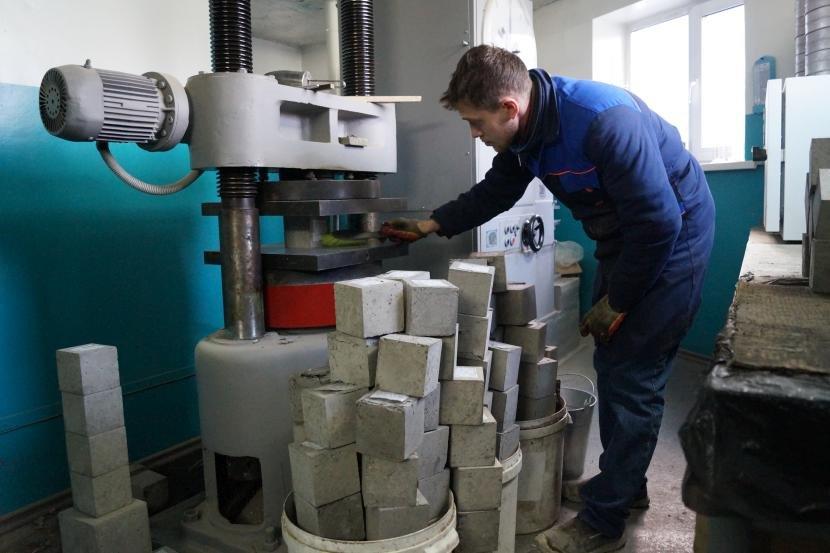 Тестирование бетона на качество