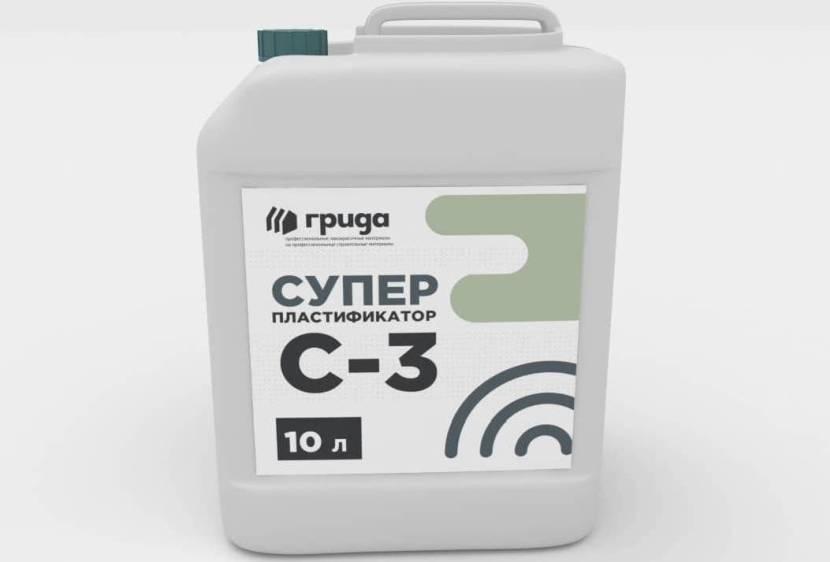 Пластификатор С 3 с содержанием формальдегида