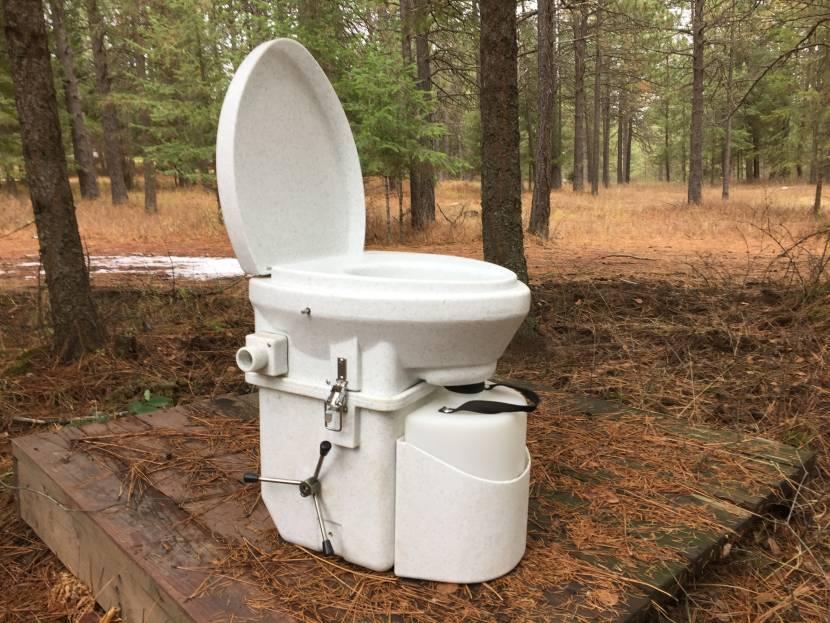 Устройство биотуалета соответствует санитарным нормам